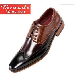 Amali Amali Bolt Dress Shoe - Black/Brown/Cognac