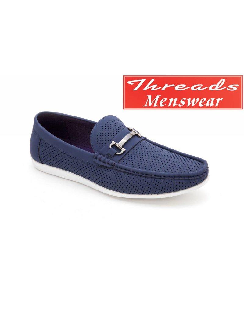 Montique Montique Casual Shoe S-45 Navy Blue