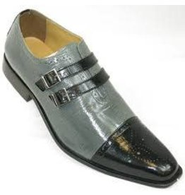 Liberty Liberty Dress Shoe - 1048 Black/Gray