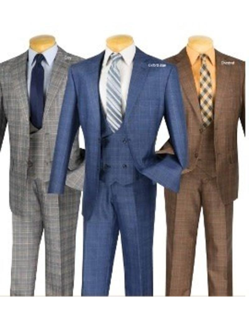 Vinci Vinci Suit & Vest -  V2RW7 (3 colors)