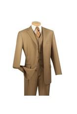 Vinci Vinci Vested Suit - 3TR Khaki