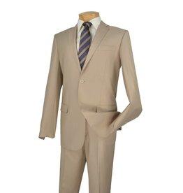 Vinci Vinci Slim Fit Suit - SC900 Beige