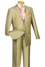 Vinci Vinci Vested Suit - 23SS4 Tan/Peach
