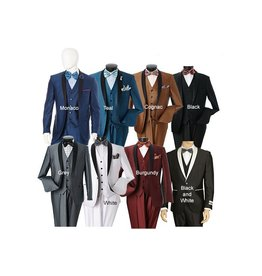 Lorenzo Bruno Lorenzo Bruno Slim 3pc. Suit S6501V