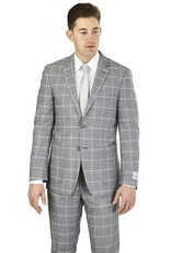 Lorenzo Bruno Lorenzo Bruno Modern Fit Suit - M62CB Gray