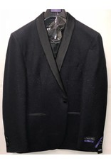 Retro Paris Retro Paris Slim Fit Blazer- 512 Black/Black