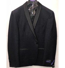 Retro Paris Retro Paris Slim Fit Blazer- 512 Black/Black