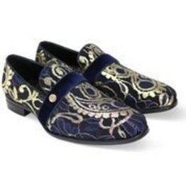 After Midnight After Midnight Formal Shoe - 8080 Navy Blue/Gold