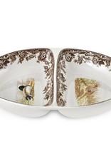 Spode Woodland Divided Dish (Pheasant)