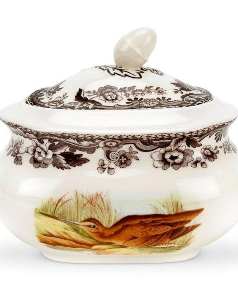 Spode- 1538384 Woodland Covered Sugar (Snipe/pintail)