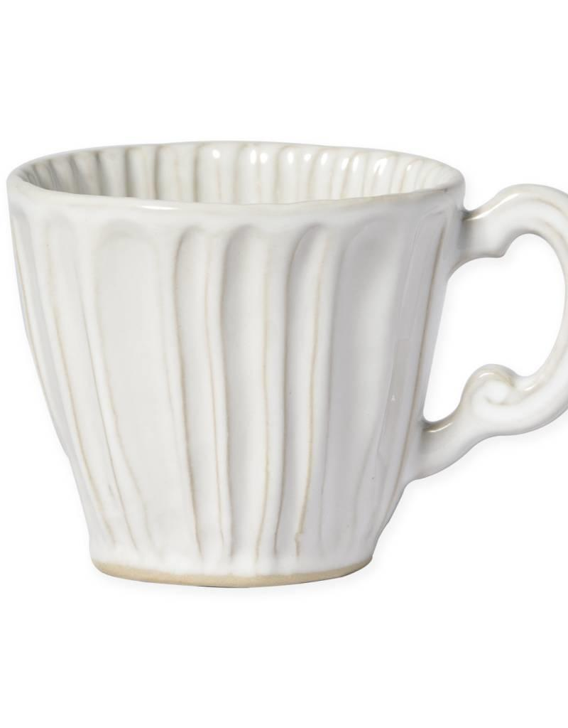 JESSLYN BRANTLEY  Vietri - Incanto Stone White Stripe Mug
