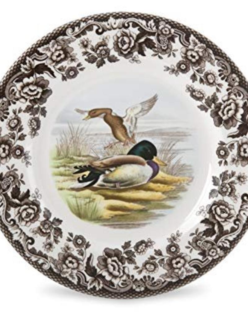 "Spode Woodland Salad 8"" (Mallard)"