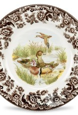 "Spode Woodland Salad 8"" (Wood Duck)"