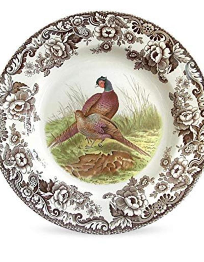 "Spode  Woodland Salad 8"" (Pheasant)"