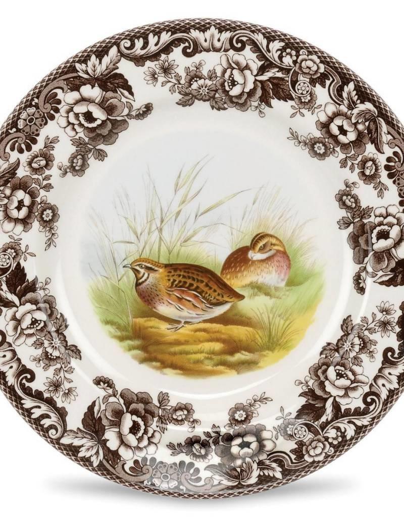 """Spode Woodland Salad 8"""" (Quail)"""