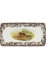 """Spode Woodland Sandwich Tray 15.25x6.5"""""""