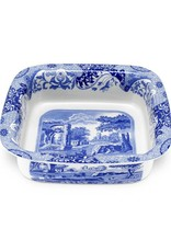 "Spode Blue Italian Square Dish 10"" X 3"""