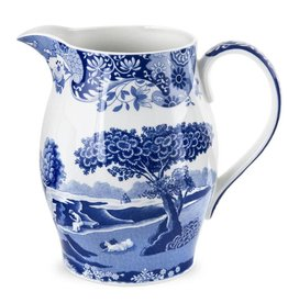 Spode  Blue Italian Pitcher 3.5 PT