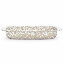 Golden Rabbit- Baking Pan (Taupe Swirl)