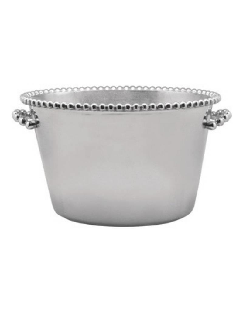 Pearled Medium Ice Bucket