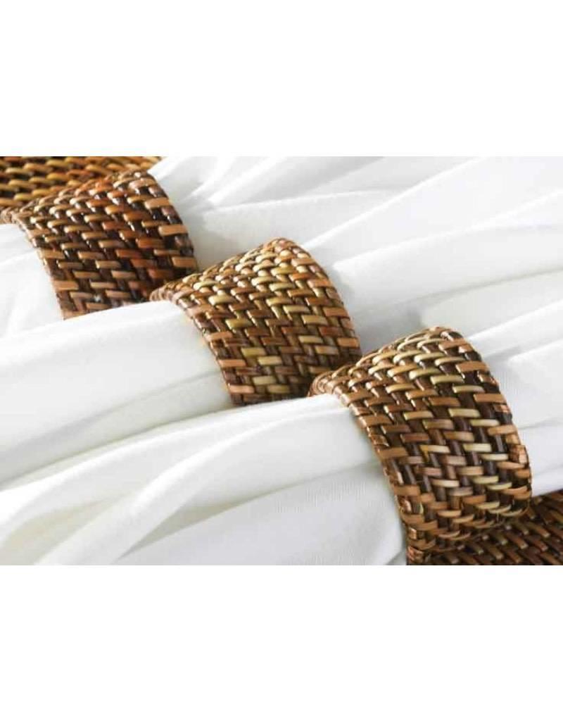Rattan Napkin Rings (Set of 4)