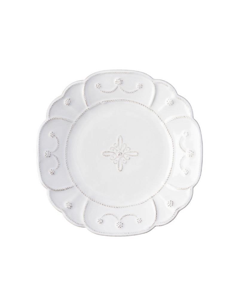 Juliska JDM White Salad Plate