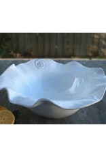 Ceramic Olanes Bowl XL (White Medallion)