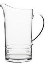 "Juliska Pitcher Isabella Acrylic Clear 11"""