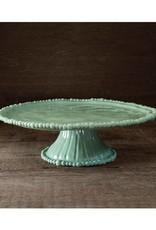 Melamine Pedestal Cake Plate (Green)