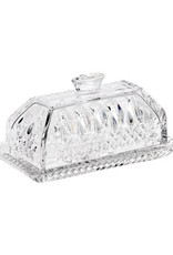 Waterford Lismore Covered Butter Dish