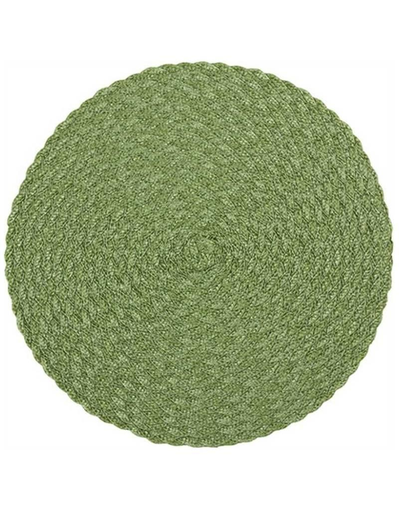 Green Woven Placemat