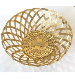 Wire Bread Basket (Gold)