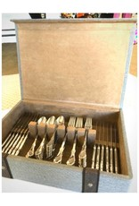 Reed & Barton Hampden Flatware 60 piece with Chest
