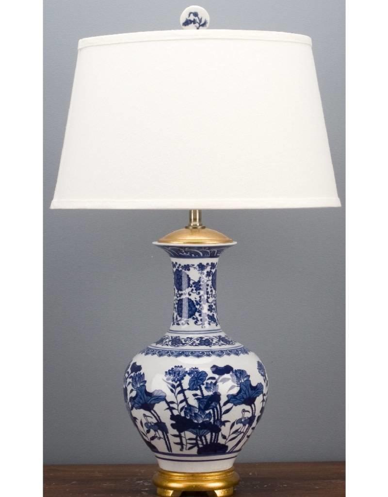 Porcelain Vase Lamp