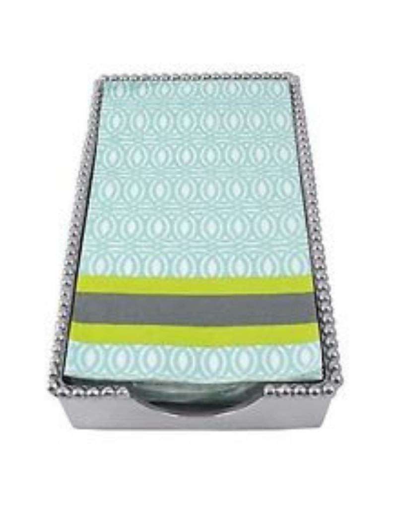Mariposa Beaded Guest Towel Box