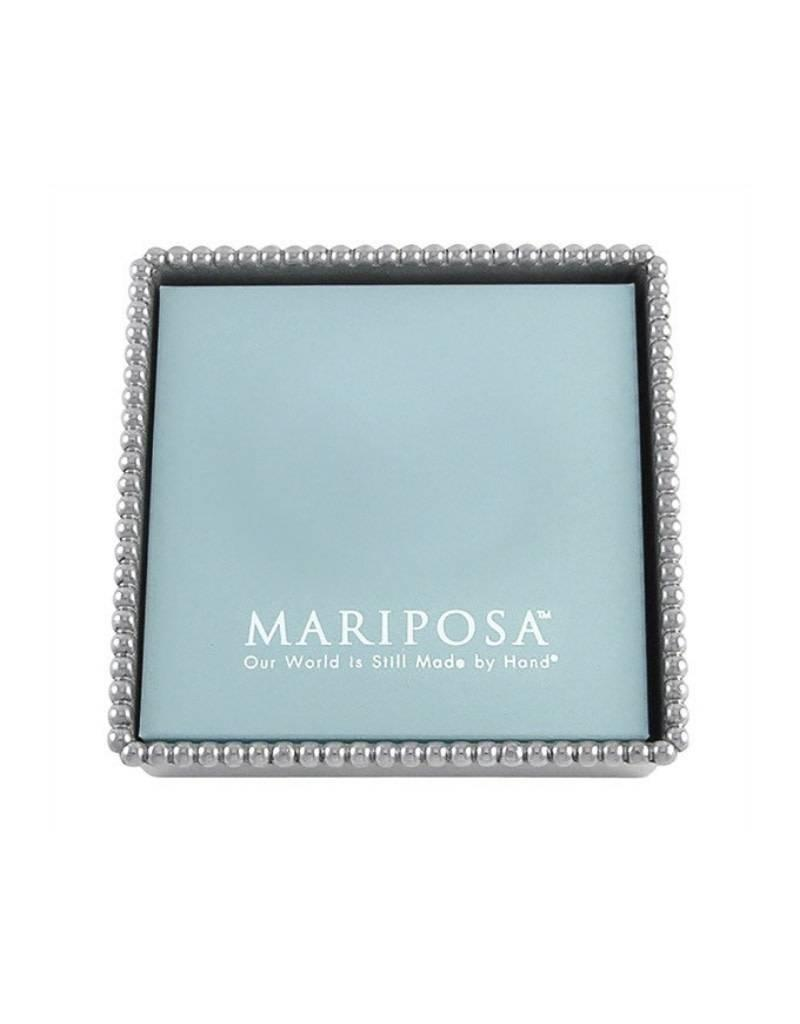 Mariposa Beaded Cocktail Napkin Tray