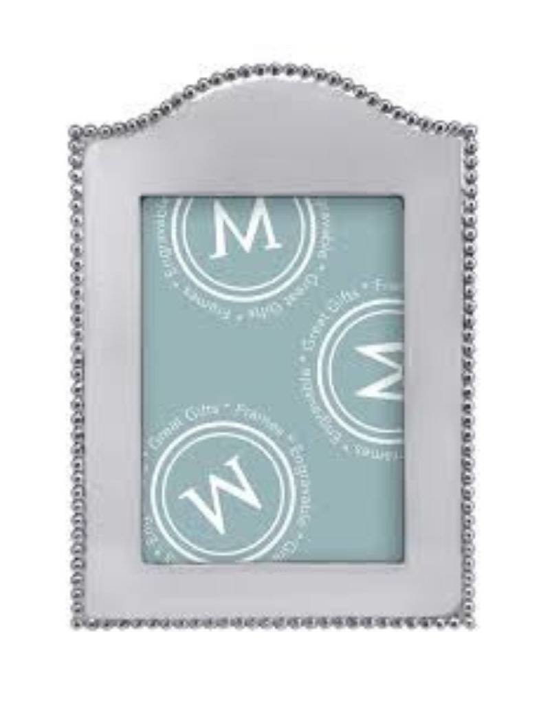 Mariposa Beaded Arched Vertical 5x7 Frame