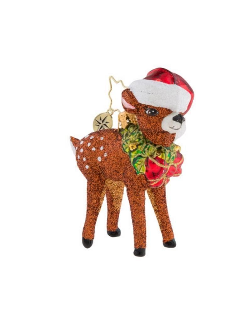 Christopher Radko Ornament Oh Deer Little Gem