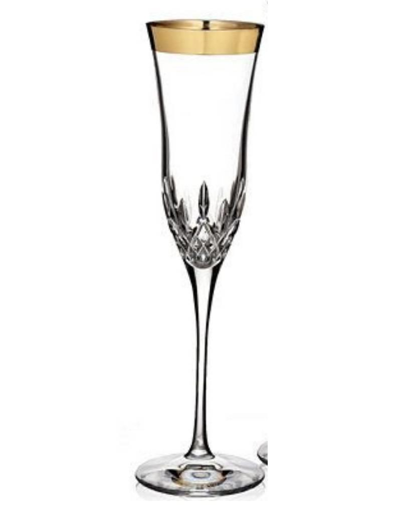 Waterford Lismore Essence Champagne Flute (Gold)