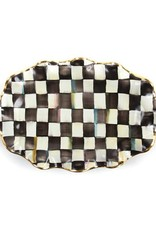 Mackenzie Childs Courtly Check Serving Platter
