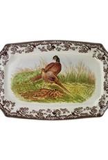 "Spode  Woodland Platter 17.5"" (Pheasant)"