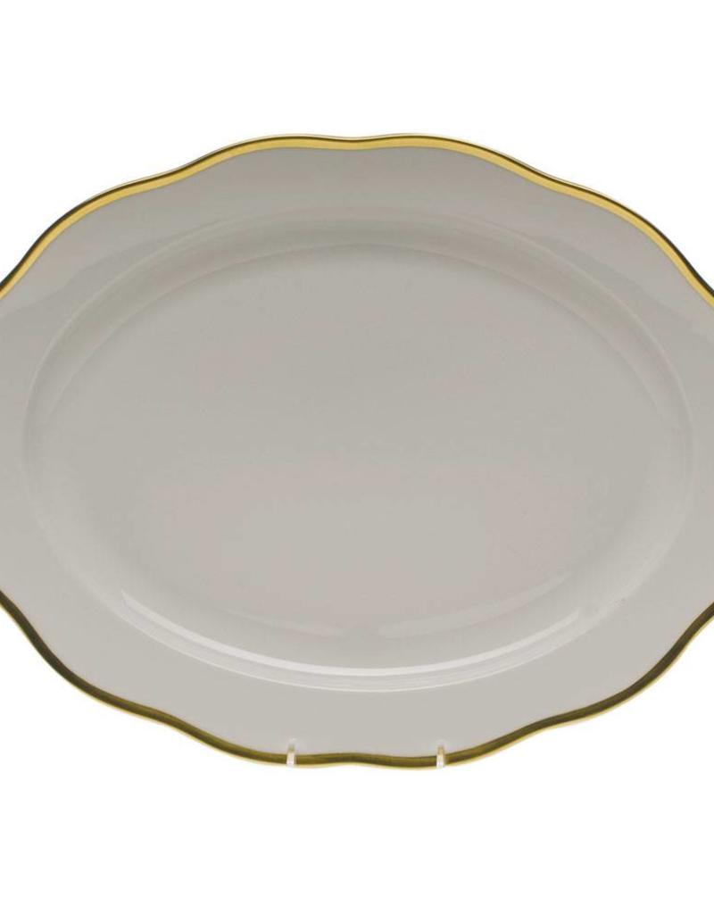 Herend Gwendolyn Oval Platter 15""