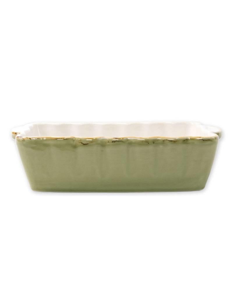 Vietri Green Rectangular Baker (Small)