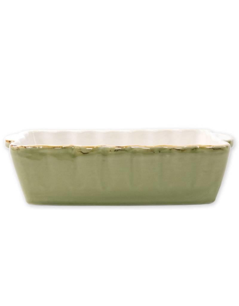 Vietri Green Rectangular Baker (Large)