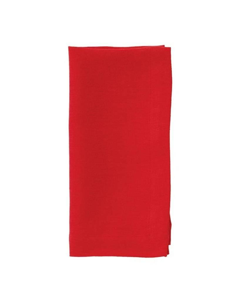 Riviera Poppy Red Napkin (set of 4)