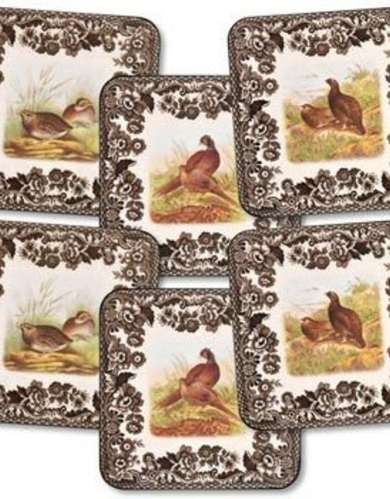 Spode Woodland Coasters (Set of 6)