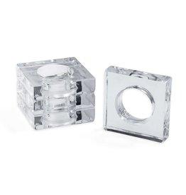 Acrylic Napkin Rings (Set of 4)