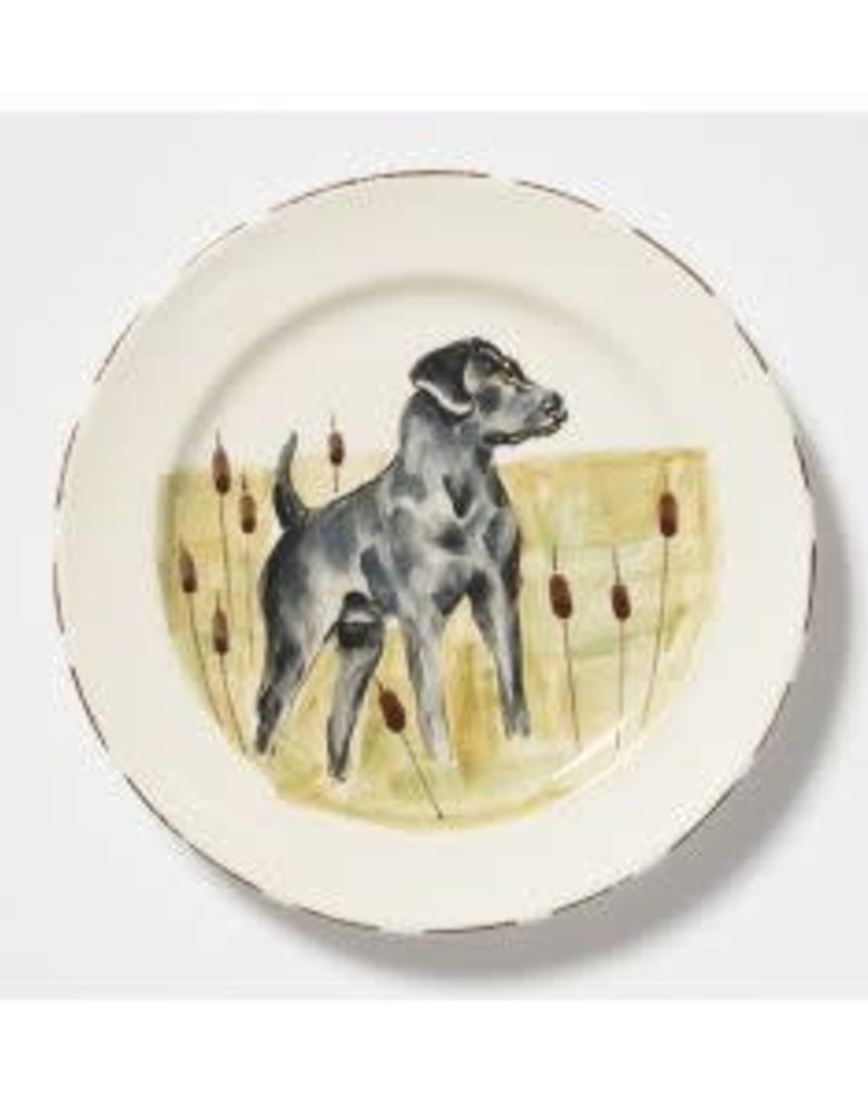 EMILY JOHNSON - Vietri Wildlife Salad Plate (Hunting Dog)