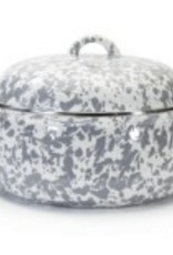 Grey Swirl Dutch Oven