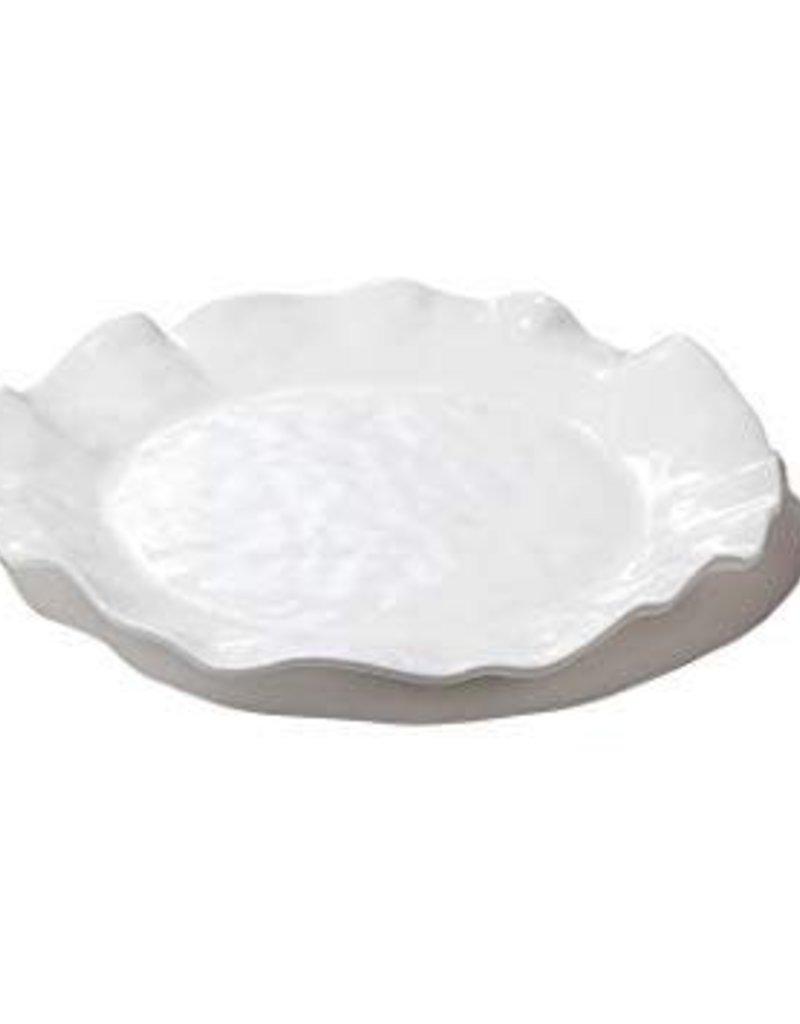 Melamine Round Platter White
